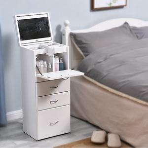 梳妆台卧室小户型现代简约网红化妆桌收纳柜一体小型迷你化妆台柜