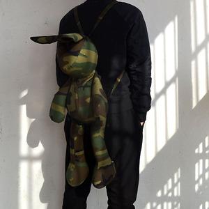 ouon超级大兔子包/双肩背包双肩包单肩包两用布偶包/定制款