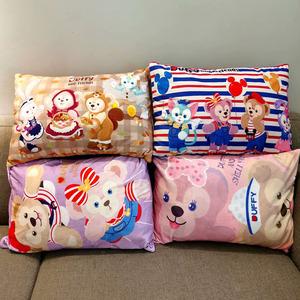 包邮 日系达非雪莉情侣枕头枕套可拆洗床上用品单人枕套枕巾套