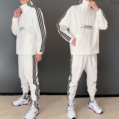 [店主]2019秋冬新款时尚运动休闲夹克套装 A011-A163*P95