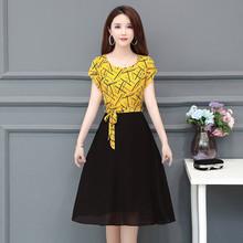 母親節衣服6 中年婦女連衣裙30到40至z50四五十歲女人媽媽穿 夏季