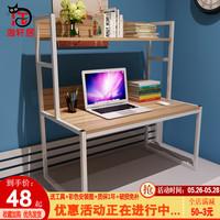 包邮大学生电脑桌床上书柜懒人寝室桌笔记本桌宿舍神器写字桌铁架