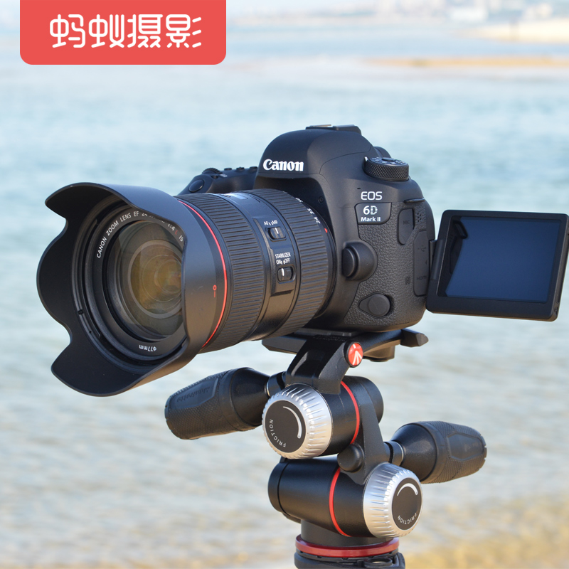 佳能6d2套机蚂蚁摄影 Canon/佳能 EOS 6D Mark II 24-105单反相机