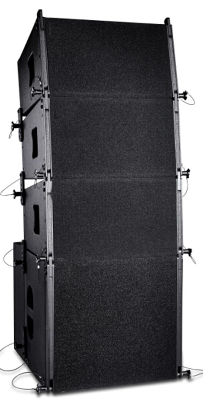 Двойной 12 дюймовый 10 дюймовый линия передний динамик 18 дюймовый сабвуфер на открытом воздухе свадьба этап конференция комната производительность линия передний звук