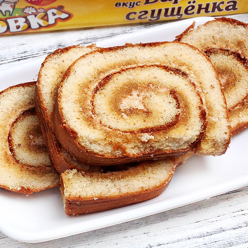 蛋糕卷软面包夹心西式糕点办公室休闲早餐食品200g