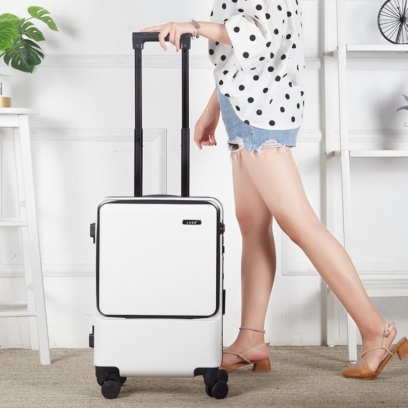 拖杆密码箱24寸网红轻质拉杆箱男女生旅行箱20高档休闲商务行李箱