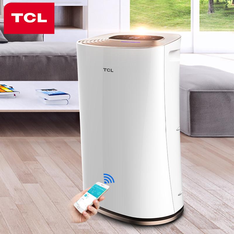【阿里智能】TCL空气净化器家用卧室二手烟PM2.5  6重除雾霾甲醛