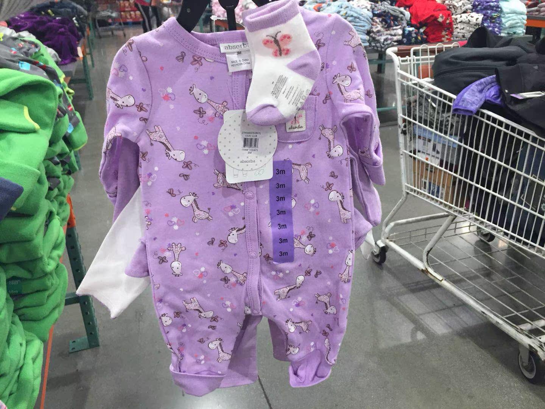 美国直邮absorba宝宝婴儿超值5件套