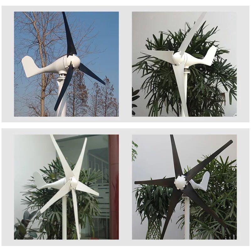 Небольшой уровень ось 400W пейзаж взаимно заполнить ветер может быть сделан двигатель 12V24V домой этаж топ установка пейзаж семья модель