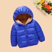 宝宝棉袄儿童羽绒棉服 清仓男童加绒童装 女童棉衣加厚冬装 外套反季