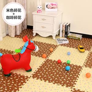 天利田园儿童宝宝爬行垫泡沫拼图地垫卧室拼接地板海绵垫子60加厚
