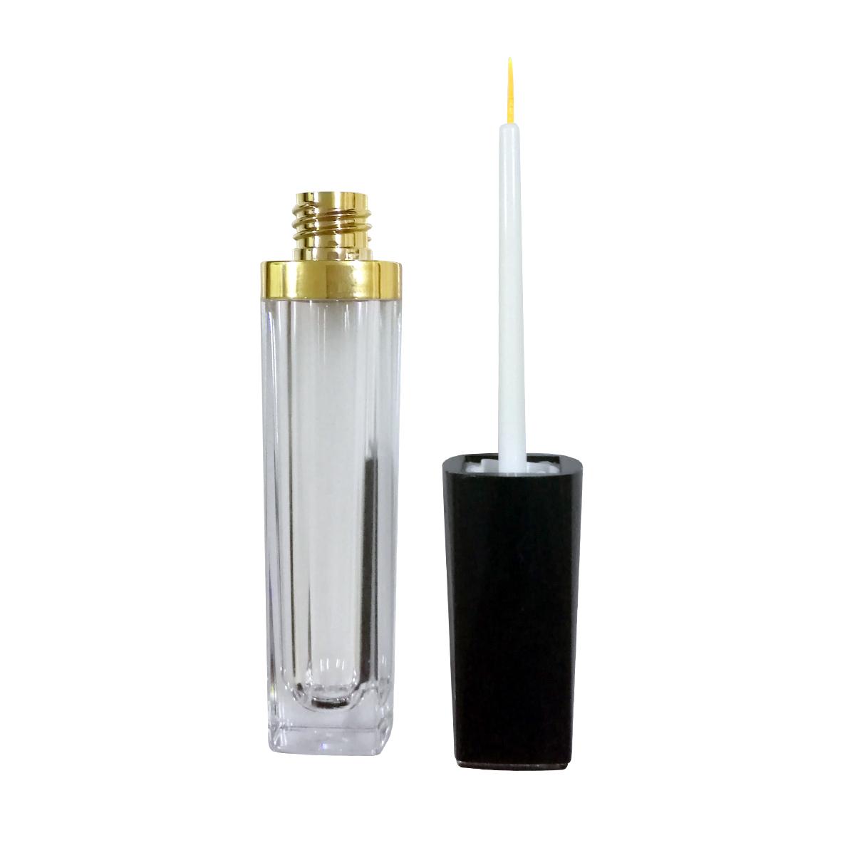 Eyelash brush bottle empty bottle eyelash eyebrow growth liquid brush tube portable exquisite lip brush Lip Pencil Eyeliner