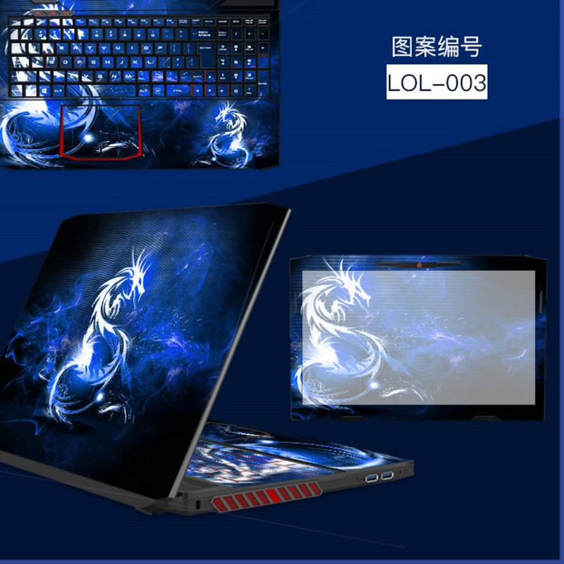 Ares T6 Ti x5e laptop film protection accessories k660e i7 D1 for Shenzhou z7 Pro