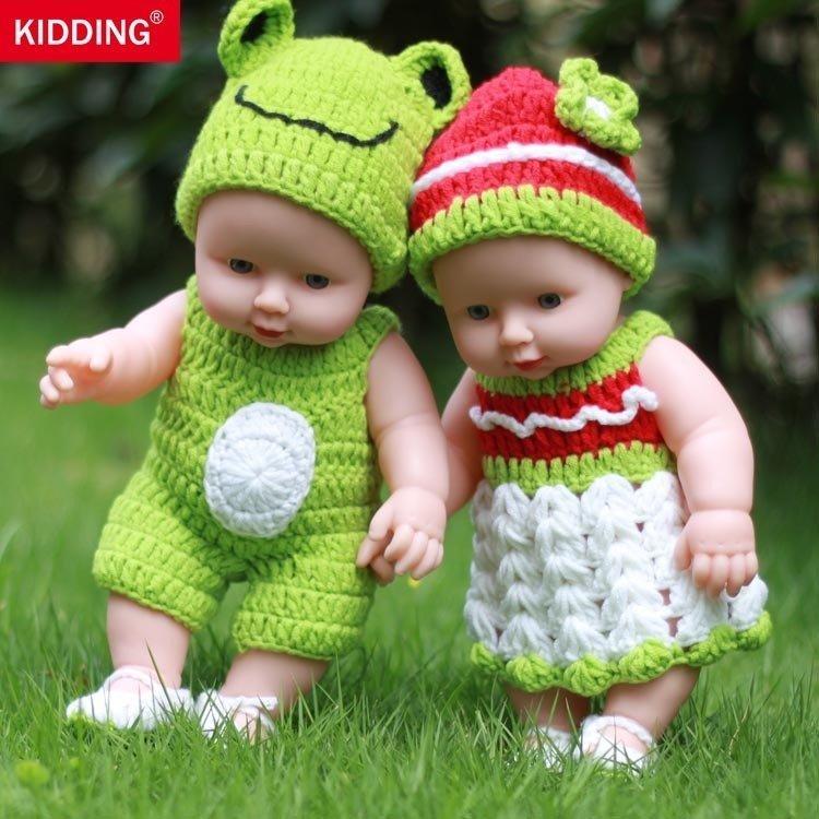 洋娃娃仿真婴儿洗澡说话眨眼娃娃软胶宝宝过家家儿童女孩玩具娃娃