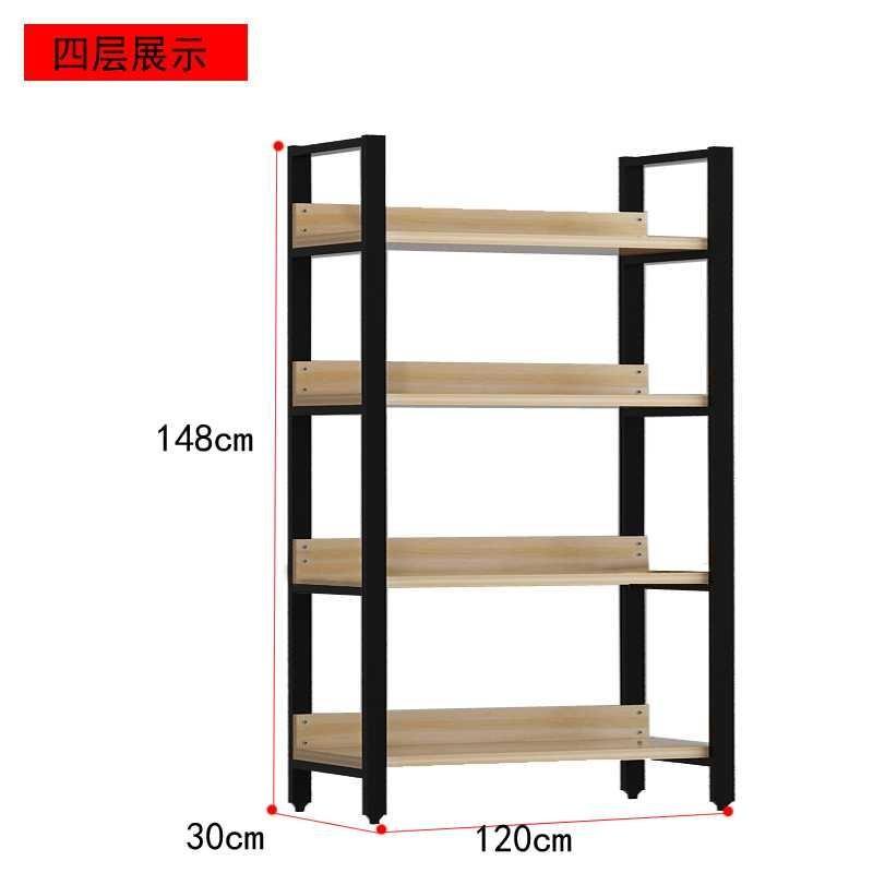 玩具展示柜家用小型展览会卧室柜台陈列柜简易柜子欧式书柜置物架
