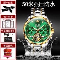 2021新款瑞士綠水鬼男士手表男全自動機械表世界正品十大品牌名牌