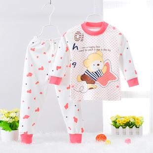 兒童內衣套裝3-5週歲純棉1-2-4歲男童女童秋衣褲小孩寶寶衣服睡衣