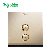 Schneider Smart home Ogilvy ZigBee single dimming panel (champagne gold) wireless control system