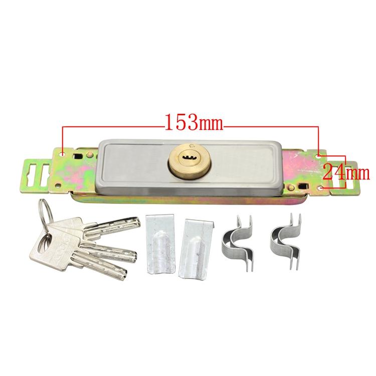 [S808]优质卷闸门锁卷门锁/双排钥匙/防盗锁全铜锁芯装中间