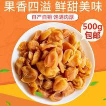 黄皮干包邮广东特产无核郁南小吃零食大人款咸味罐装散装500g