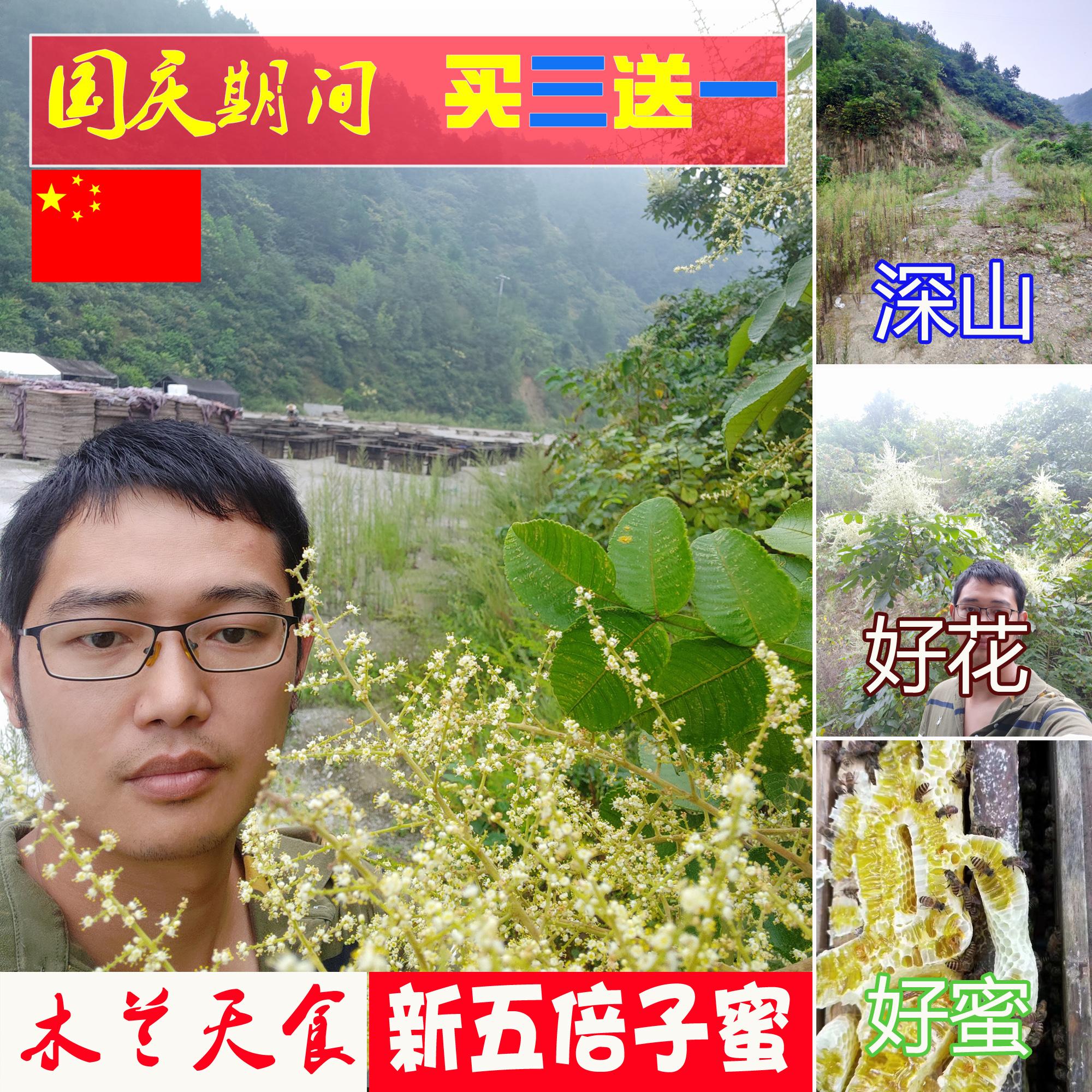 2019新鲜天然蜂农自产自销会土蜂蜜(用1元券)