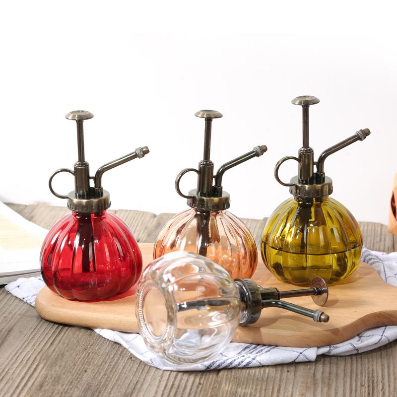 Стекло ретро лейка комнатные больше мясо сад искусство атмосферное давление стиль посыпать чайник лить чайник лить цветочный горшок спрей устройство
