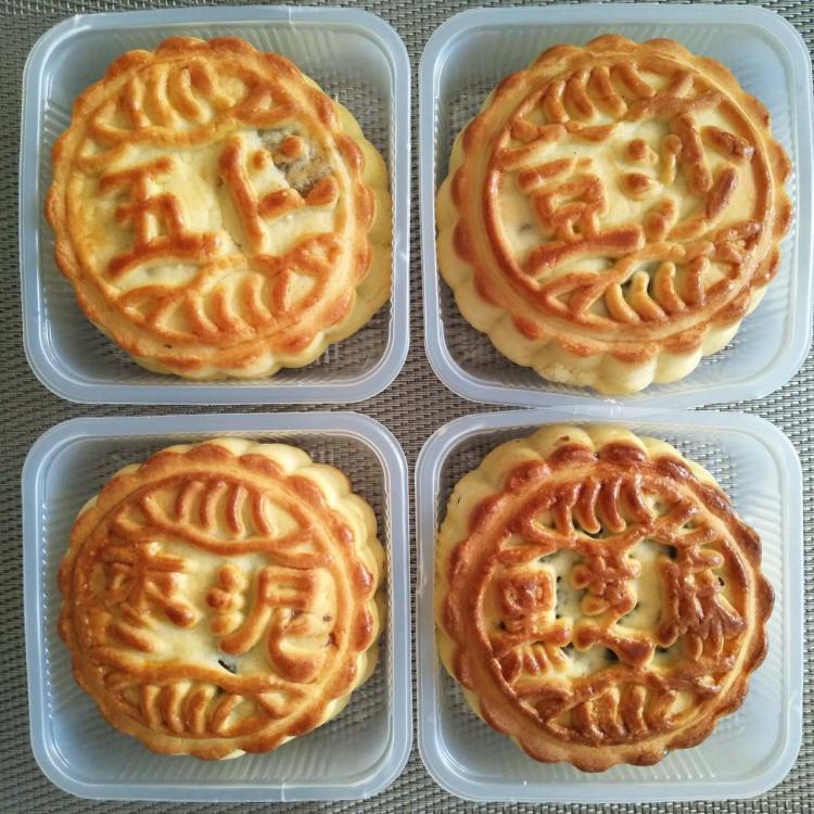清真月饼散装多口味东北老式五仁月饼素食月饼豆沙枣泥中秋月饼