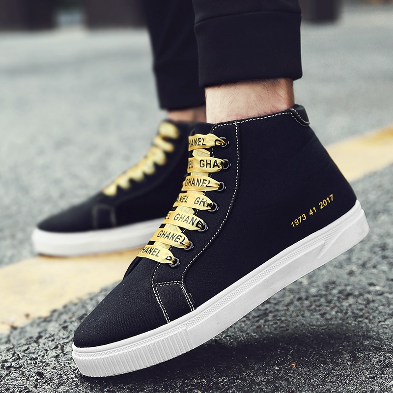 2018韩版休闲鞋跑男鞋子同款运动男李晨��青少年帆布鞋潮流学生夏