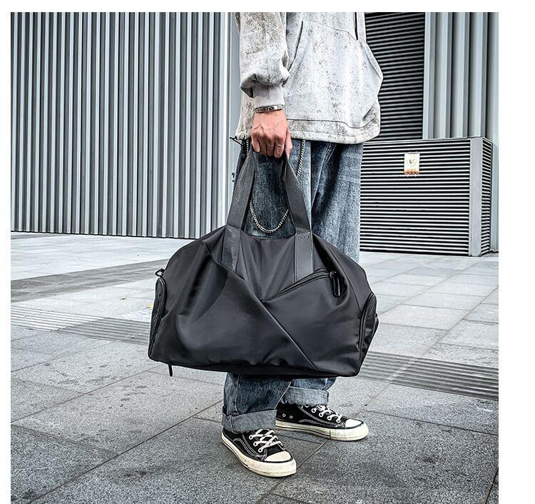 Portable travel bag large capacity luggage bag waterproof light travel bag for men and women travel bag fitness bag