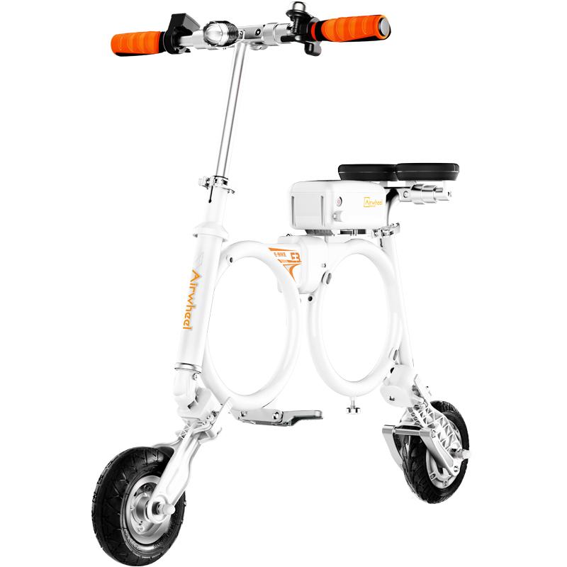 爱尔威e3智能折叠电动自行车150.00元包邮
