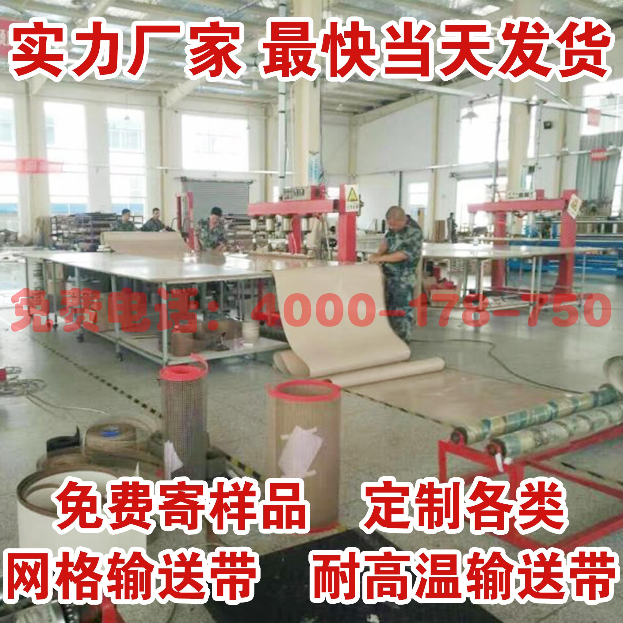 供应耐高温特氟龙网格输送带传动带 流水线工业皮带 食品级输送带