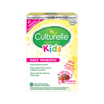 (Direct Battalion) Culturelle Kids children probiotic chewing tablets 30 tablets *2 box