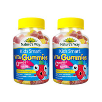 (direct) Australian DHA nature& #39; s a good Scarlett children tri-color fish oil fudge brain two bottles