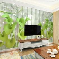 立体电视机背景墙壁纸5d壁画8d墙纸3d影视墙装饰客厅简约现代时尚