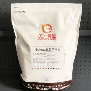 烘焙原料 贝一食品贝克福金牌QQ原味麻薯预拌粉 磨牙棒专用粉5KG