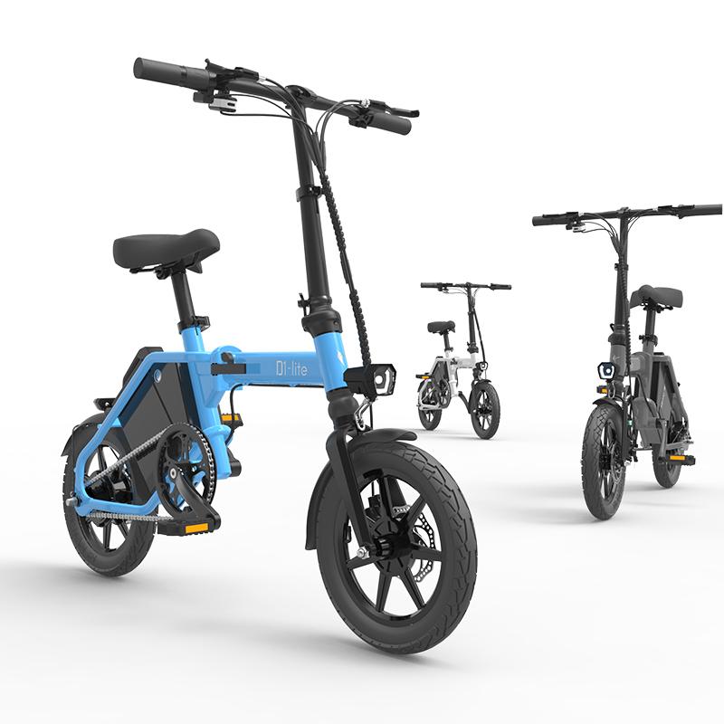 限时抢购锋鸟D1-lite超级电单车145KM续航蜂鸟折叠电动自行车代驾车代步车