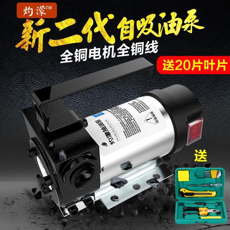Обратимый электрический привлечь насос 12V24V220V вольт эгоцентризм насос постоянный ток насос дизельное топливо насос дозаправить машинально привлечь масло