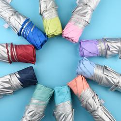 天堂伞三折折叠男女学生防晒防紫外线晴雨两用简约小清新雨伞便携