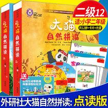 z【大猫自然拼读二级12】点读版Big Cat Phonics(小学2年级读物10册+阅读指导+拼读卡+光盘)儿童少儿启蒙故事英文绘本英语双语阅读