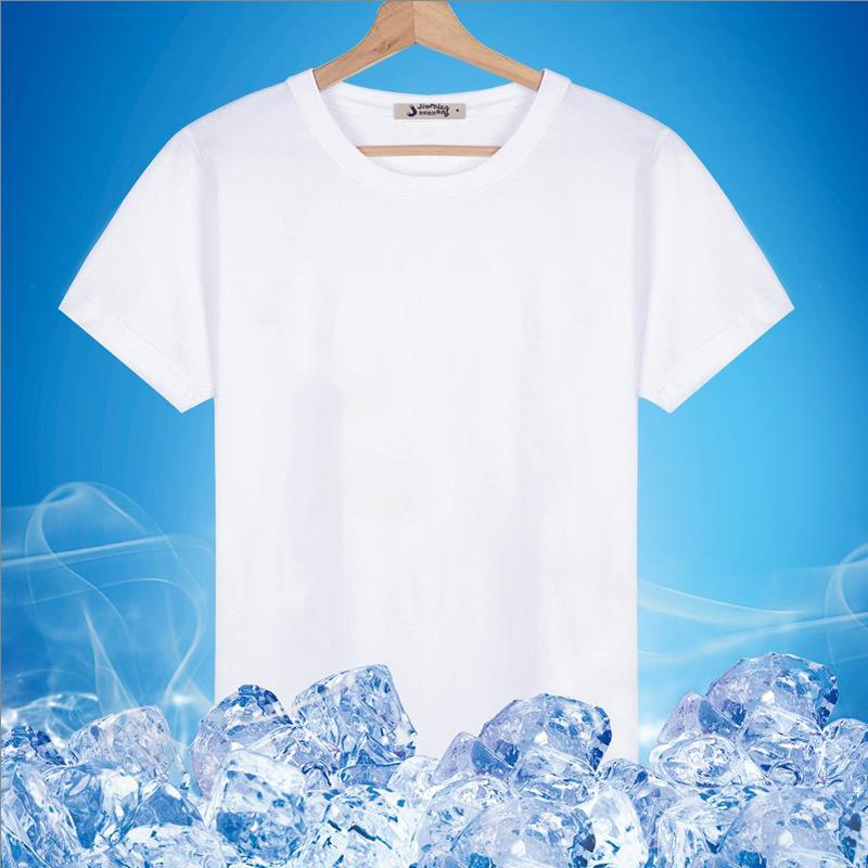 Modal cotton fat mens large short sleeve round neck T-shirt vest half sleeve V-neck middle-aged and elderly old mans T-shirt