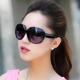 太阳镜女明星款2019大框蛤蟆镜女士墨镜潮女特价防紫外线太阳眼镜图片