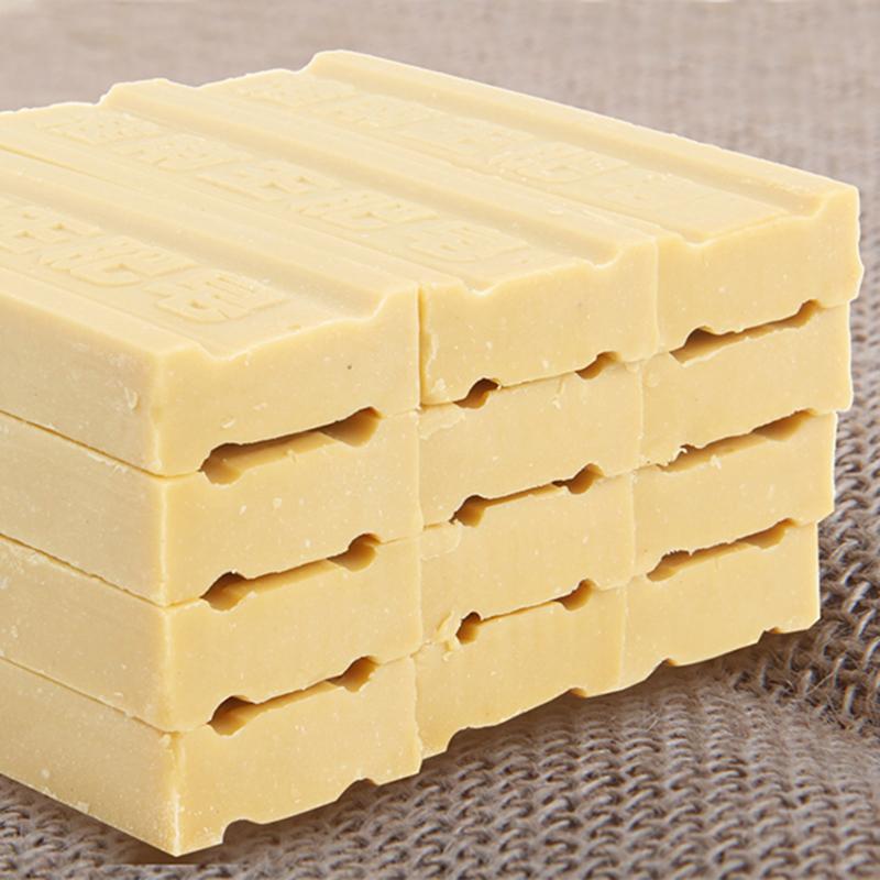 正品淮南王老肥皂220g*12块洗衣肥皂去污土臭整箱特价家庭装