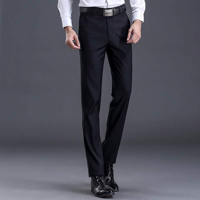 Middle aged mens casual pants in spring and Autumn