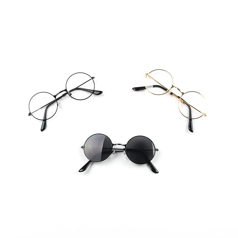 儿童眼镜潮时尚男童女童防紫外线眼睛镜小孩黑色太阳镜宝宝太子镜