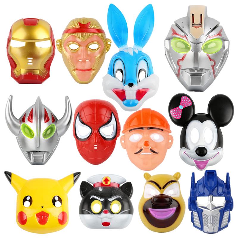 Хэллоуин рождество маска ребенок игрушка мужской и женщины ребенок творческий танец может детский сад подарок мультики земля стенд источник товаров оптовая торговля