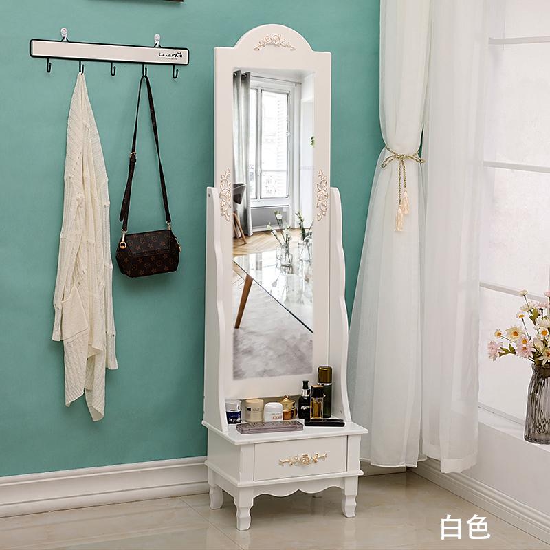10月10日最新优惠简约实木全身镜家用客厅化妆镜子