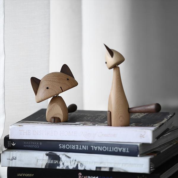 巷子戏法可爱猫咪手办,两个憨货小摆件玩偶,200元左右送女朋友情侣礼物
