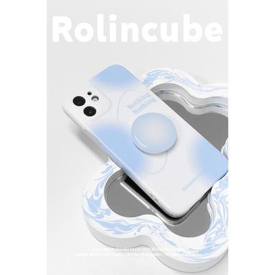 Rc原创适用iphone12手机壳xr渐变ins苹果11promax艺术xs简约8plus