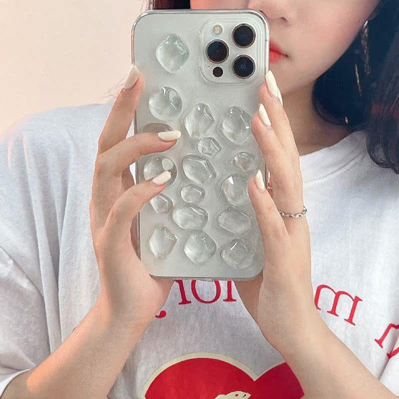 中國代購|中國批發-ibuy99|iphone|不规则滴胶11适用iPhone12promax苹果XS简约XR透明x手机壳7/8plus