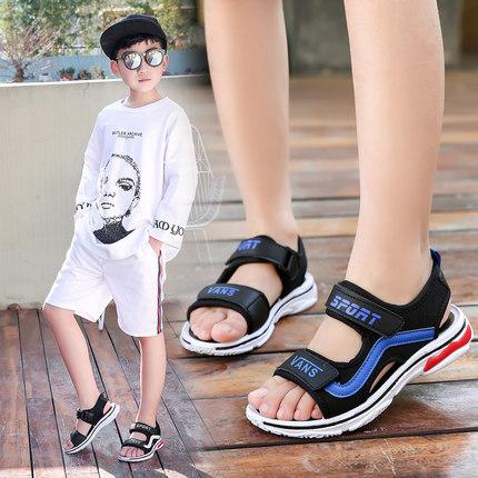 男童凉鞋2019夏季新款儿童童鞋韩版潮中大童学生男孩沙滩鞋子